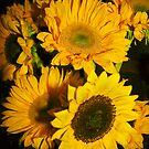 Sunflowers Pillow by heatherfriedman