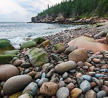 Acadia Beach Rocks by FrigidLight