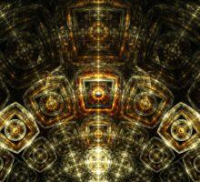 Matrix - Abstract Fractal Artwork Sticker
