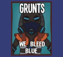 Grunts: We Bleed Blue by Tyberius