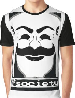 F*** Society! - Mr. Robot - Graphic T-Shirt