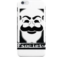 F*** Society! - Mr. Robot - iPhone Case/Skin