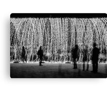 Raining Lights - Cathedral of Lights Canvas Print