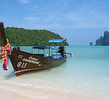 Thai longboat by GypsySoulImages