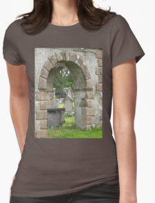 Eglington old church Co Derry Ireland Womens Fitted T-Shirt