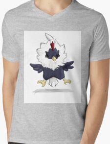 Rufflet Mens V-Neck T-Shirt