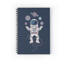 The Juggler Spiral Notebook