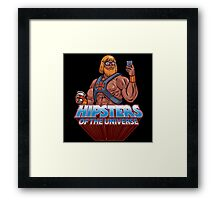 Hipsters Of The Universe Framed Print