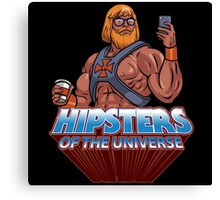 Hipsters Of The Universe Canvas Print