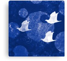 Three Cosmic Birds Digitally Altered Version of Original Work 13 Canvas Print