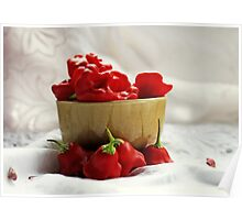 Cupful Of Chillies Poster