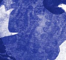 Three Cosmic Birds Digitally Altered Version of Original Work 13 Sticker