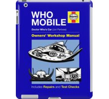 Haynes Manual - Whomobile - T-shirt iPad Case/Skin