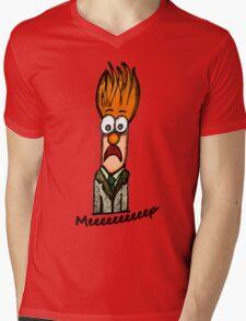 Meeeeeeeeep Mens V-Neck T-Shirt