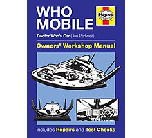 Haynes Manual - Whomobile - Poster & stickers Photographic Print