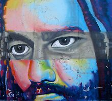 Bob Marley mural, Berlin Wall by GypsySoulImages