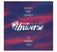Universe - Rumi Wisdom quote 1 One Piece - Long Sleeve