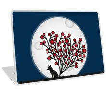 Full Moon Fox Laptop Skin