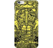 Rebirth - Black & Yellow iPhone Case/Skin