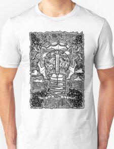 Rebirth - Black & White Unisex T-Shirt