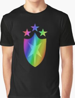 MLP - Cutie Mark Rainbow Special - Shining Armor V3 Graphic T-Shirt