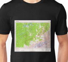 USGS TOPO Map Alaska AK Mount McKinley 361201 1958 250000 Unisex T-Shirt
