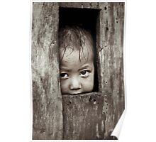 Young boy, Sapa, Vietnam Poster