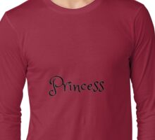 Princess Long Sleeve T-Shirt