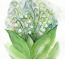 Lily of the valley by lileinaya