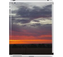 Naracoorte sunset 11/11/11 iPad Case/Skin