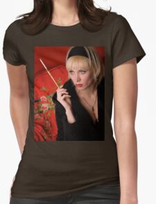 Cabaret_3 Womens Fitted T-Shirt