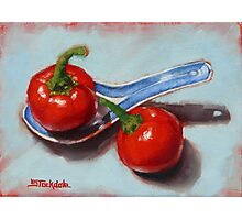 Spoonful Of Chilli Photographic Print