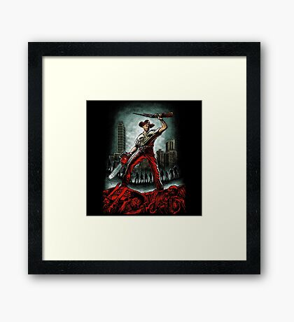 Army Of Walkers Framed Print