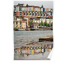 Bristol Reflected Poster