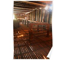 Shearing shed light Poster