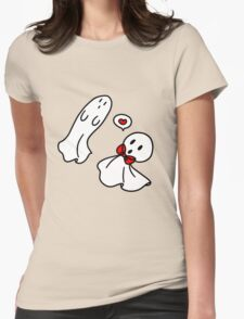 Love Ghosts Womens Fitted T-Shirt