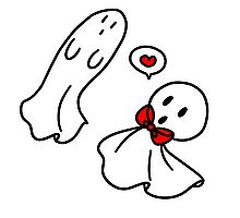 Love Ghosts Photographic Print