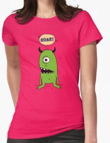 Roar! Monster! Womens Fitted T-Shirt