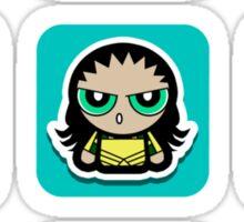powerpuff hero icon Sticker