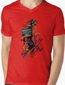 Splash Warrior Mens V-Neck T-Shirt