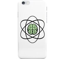 Atomic Nucleus Brain iPhone Case/Skin