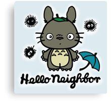 Hello Neighbor Canvas Print