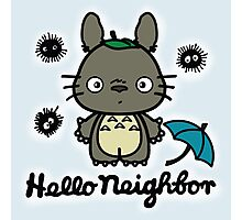 Hello Neighbor Photographic Print