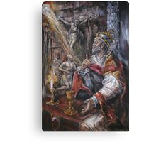 Pope Benedict XIII - Dialogue with God Canvas Print