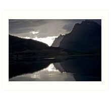 7 ★★★★★.Lofoten Magic landscape. . by Brown Sugar . Views 1879 . Thx! Art Print