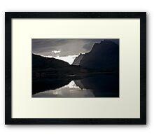 7 ★★★★★.Lofoten Magic landscape. . by Brown Sugar . Views 1879 . Thx! Framed Print