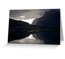 7 ★★★★★.Lofoten Magic landscape. . by Brown Sugar . Views 1879 . Thx! Greeting Card