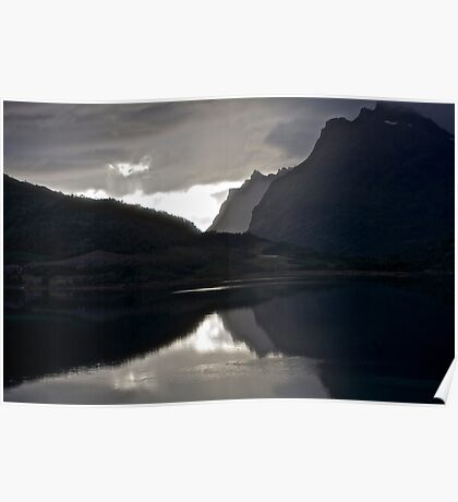 7 ★★★★★.Lofoten Magic landscape. . by Brown Sugar . Views 1879 . Thx! Poster