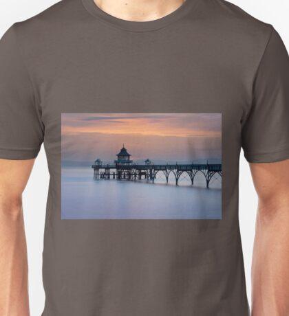 Clevedon Pier Sunset Unisex T-Shirt