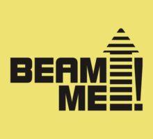 Beam me up V.1 (black) Kids Tee